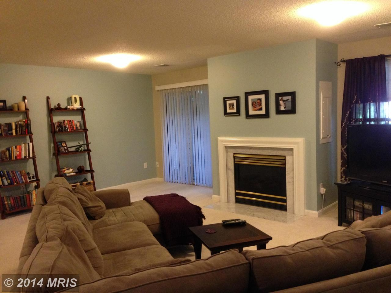 Living Room And Fireplace Blue Horizon Property Management